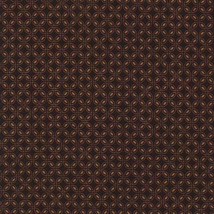 CX5988 tiny tiles small geometrics ditzy ditsy all over pattern gem tones toffee brown chocolate coffee