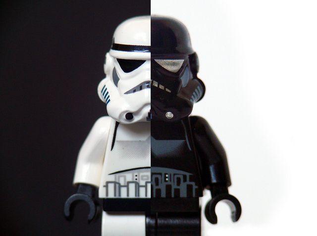 Lego Stormtrooper - Black or White..