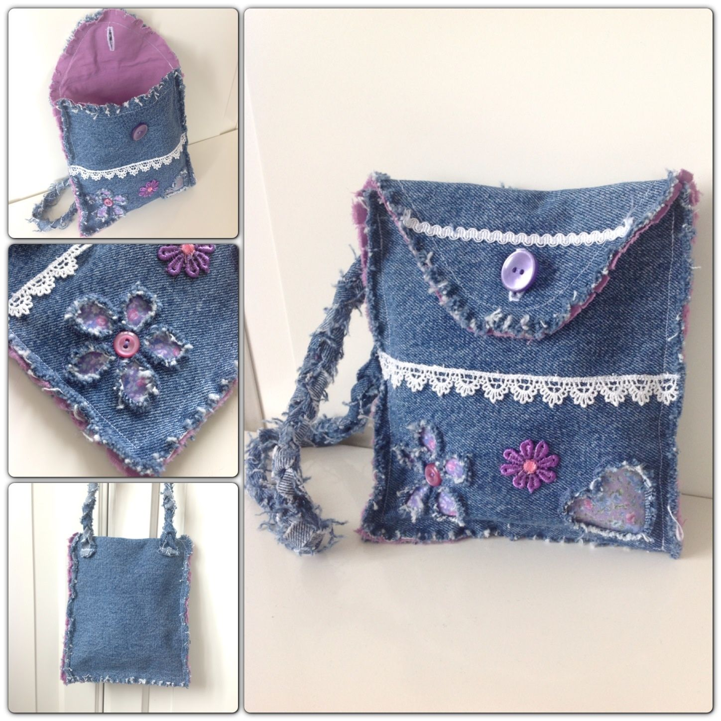 DIY denim bags from old jeans | Min kreativa sida / My ...