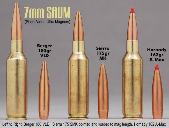 7mm Rem SAUM ~ 180 Berger ~ 175 Sierra ~ 162 A-Max