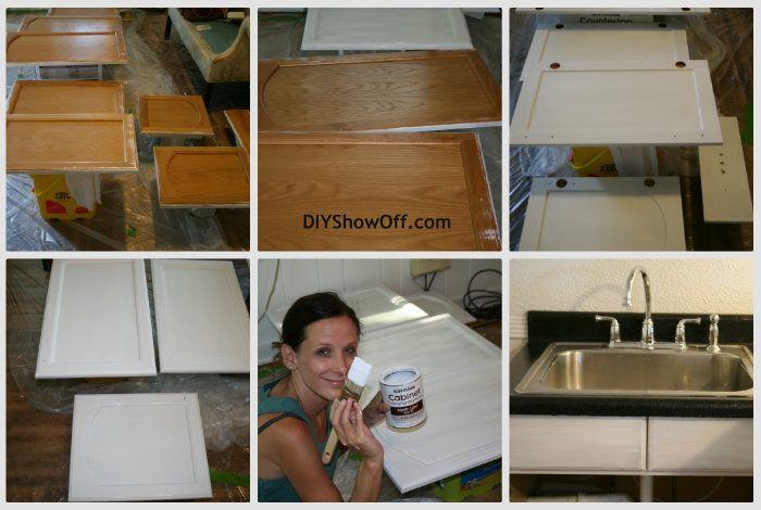 DIY Show Off. Cabinet TransformationsRustoleum Cabinet Transformation Painting ...