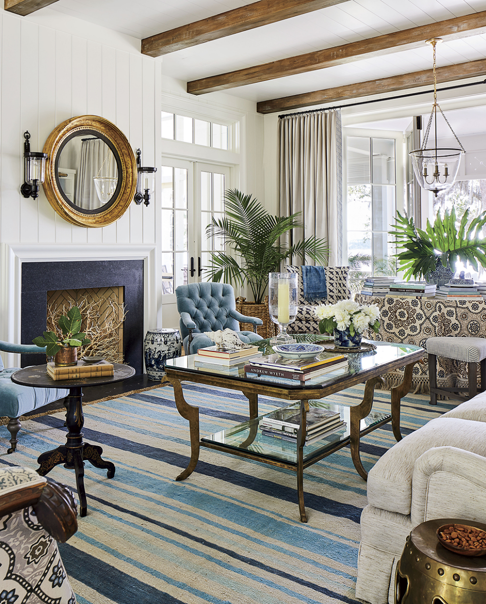 Southern Style Decorating Ideas From Southern Living: Pondview Medium Jar Lantern In 2020
