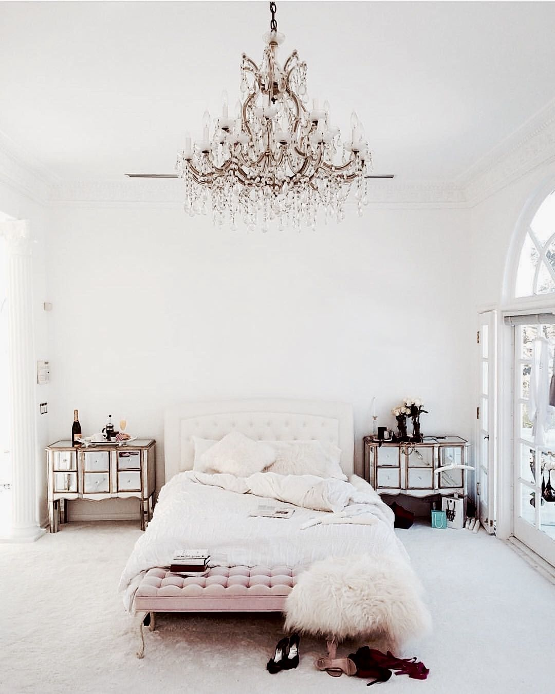 Bedroom Cosy Bed Pastell Living