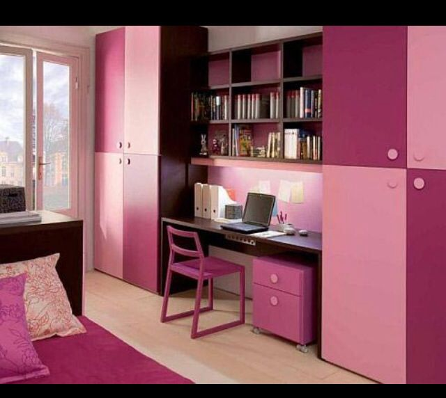 Pink perfection #room #pinky #love it