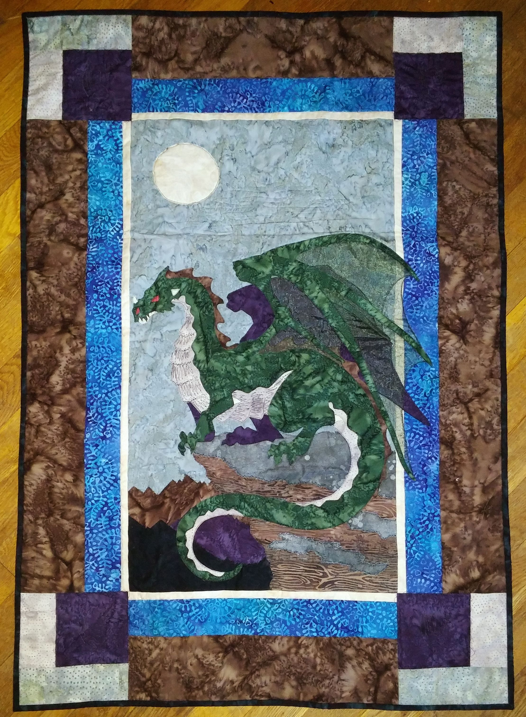 Earth Dragon Quilt Quilts Quilts Quilt Patterns Dragon