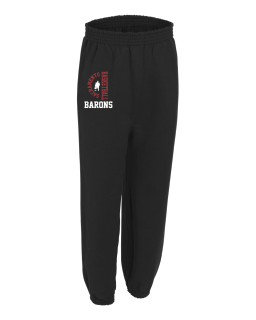 Baron's Sweatpants with pockets and elastic cuffs