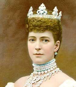 Queen Alexandra, a talented horsewoman