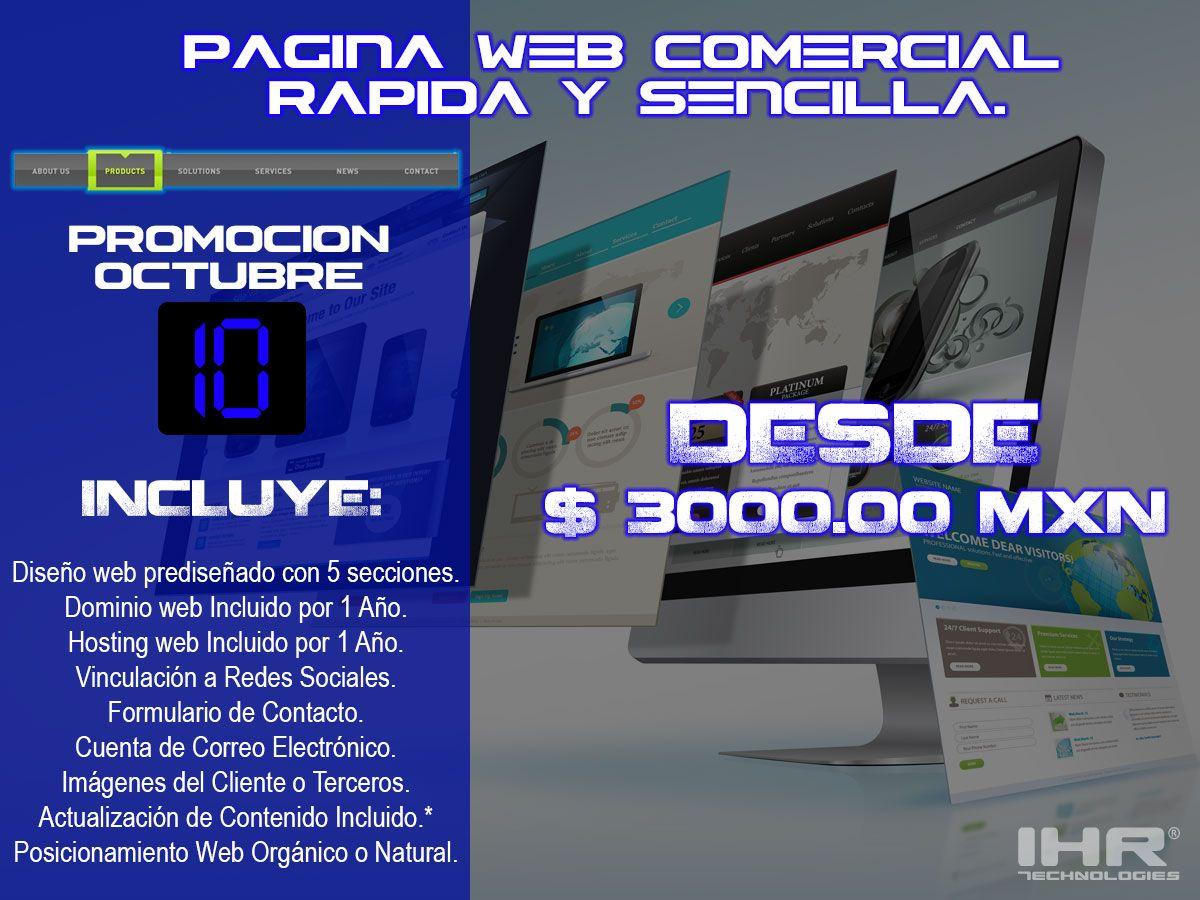 Es muy sencillo y rápido hacer un sitio web de cualquier producto, esperemos te interese esta promoción, estamos a tus ordenes.