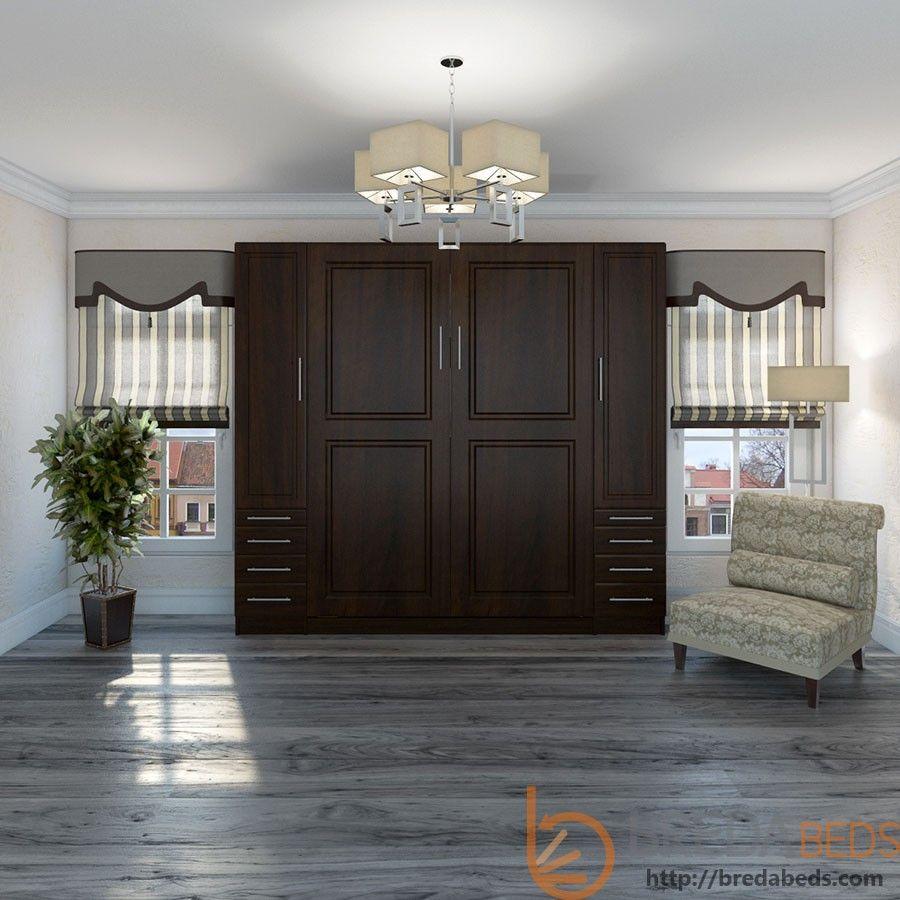 Best Metropolitan Murphy Bed With Hutches Modern Murphy Beds 640 x 480