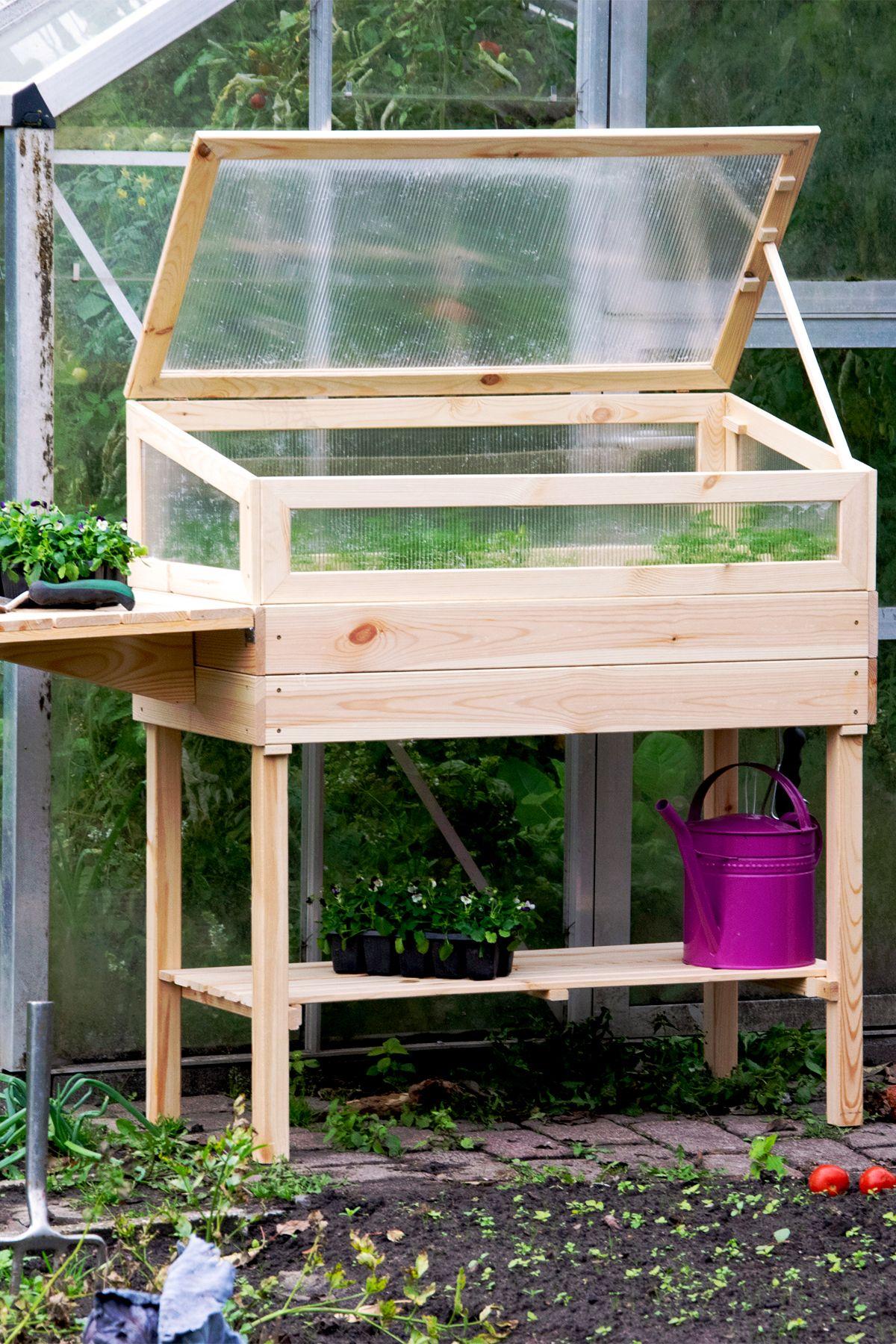 Dobar Hochbeet 150 X 50 X 107 Cm Holz In 2020 Hochbeet Gemuseanbau Garten