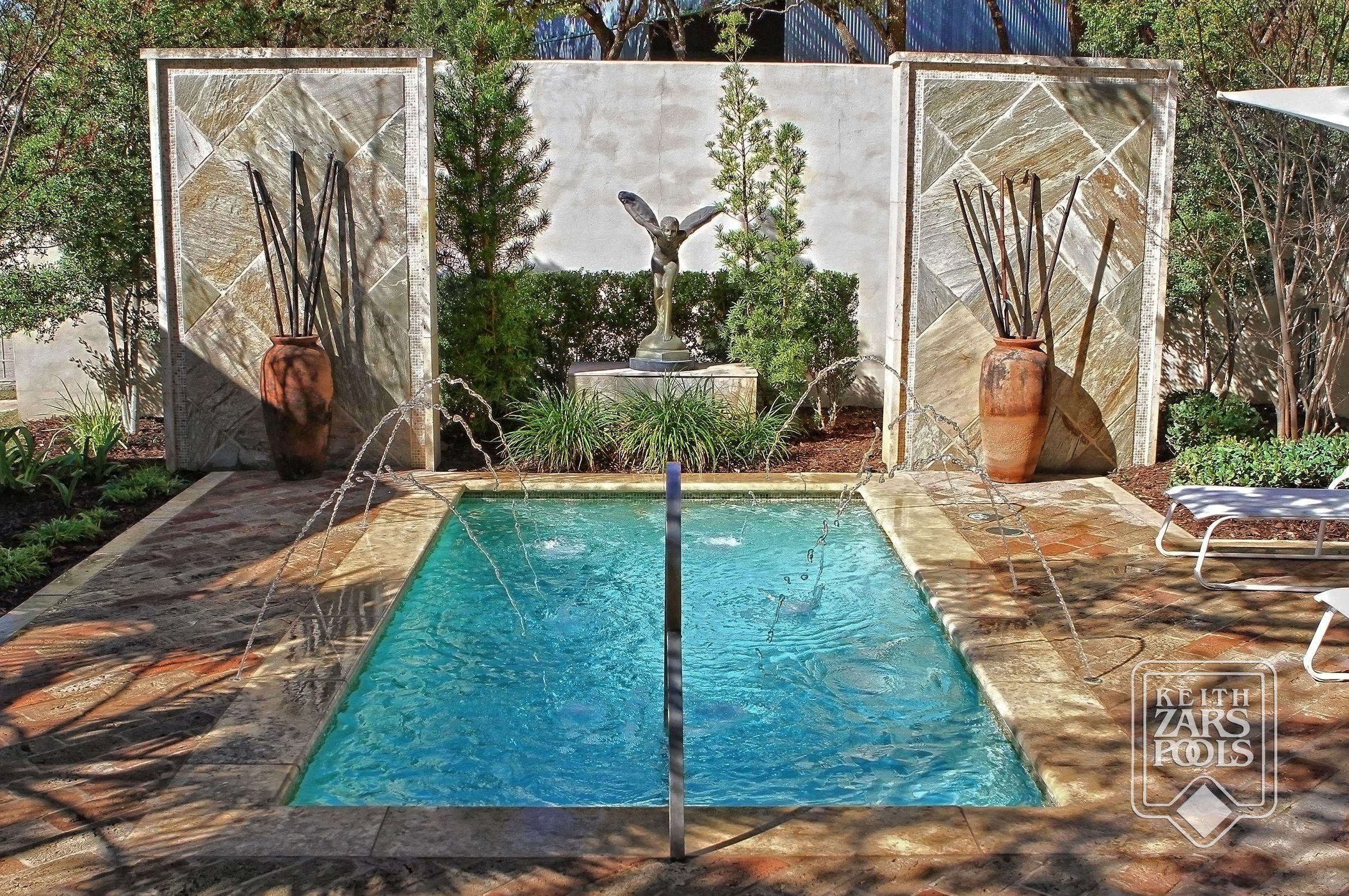 Custom Swimming Pool With Sunshelf, Two Spas, A Swim Up Bar,