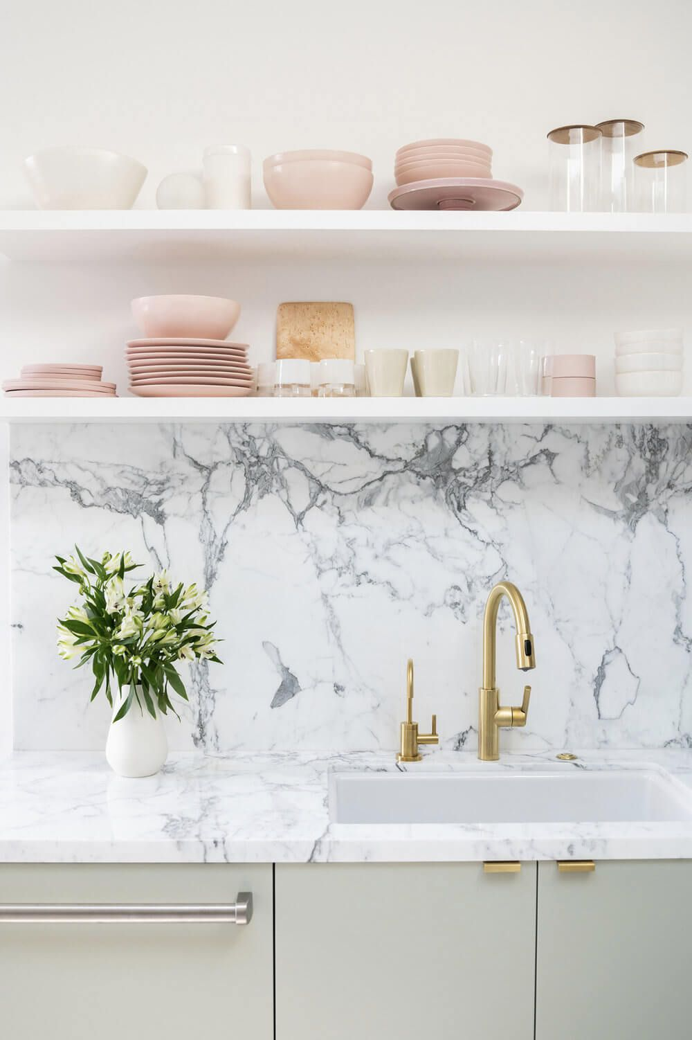 6 reasons to choose open kitchen shelves instead of on kitchen shelves instead of cabinets id=55769