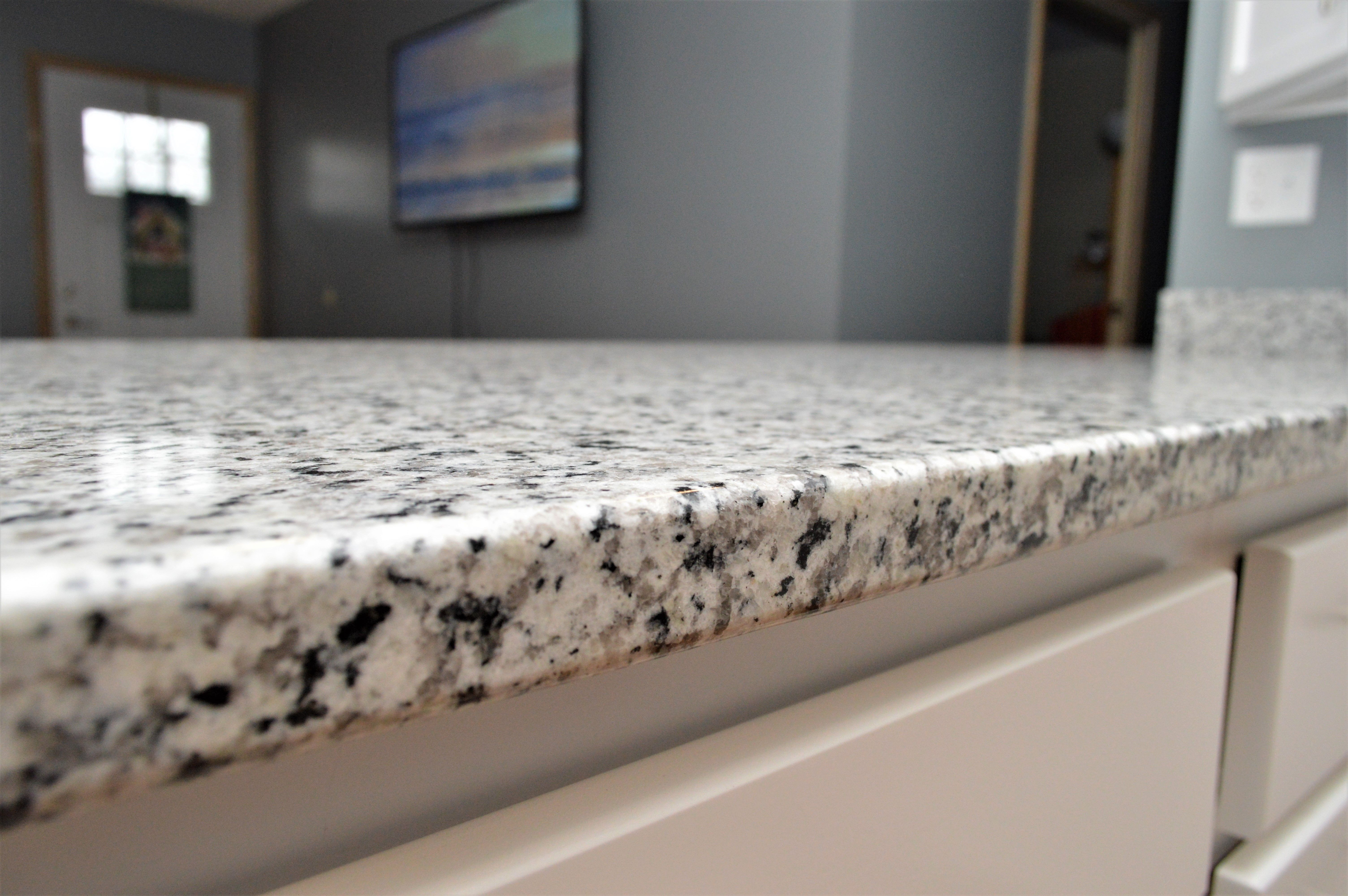 Granite Countertop Double Radius Edge Detail Silicone 4