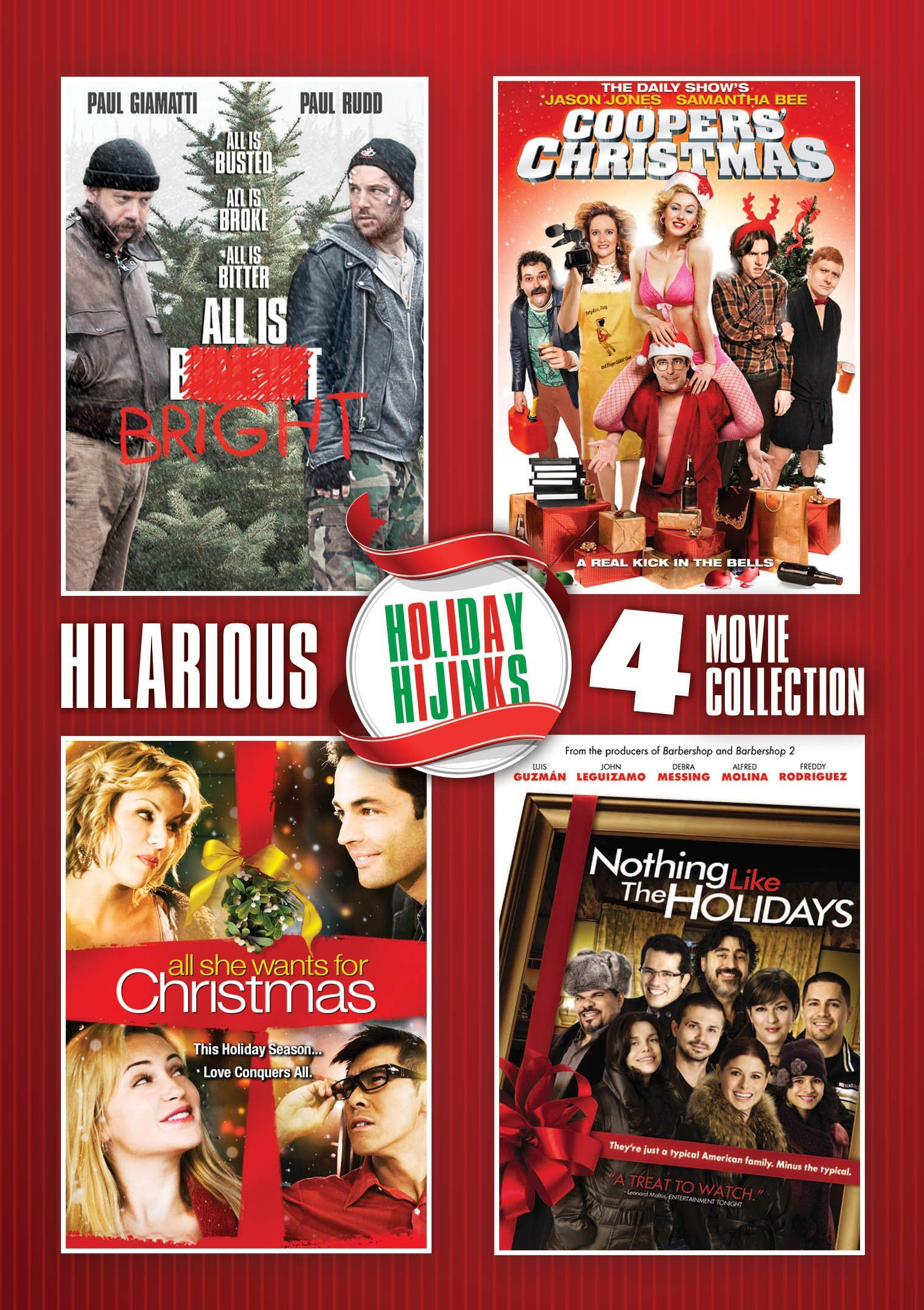 Holiday Hijinks 4-Pack | November 4th, 2014 DVD/Blu-ray Releases ...