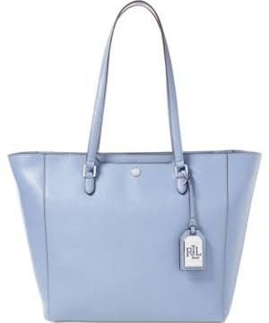 Light Blue Leather Handbag Purses Accessories