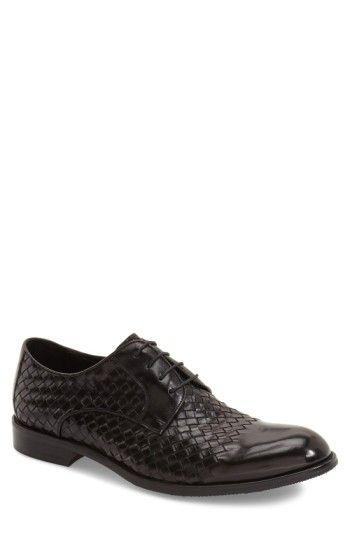 Factory Sale Beethoven' Plain Toe Derby Men Mens Black Leather Zanzara Mens Oxfords Derby Shoes