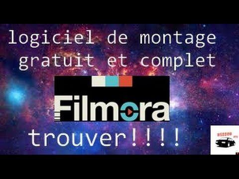 LOGICIEL DE MONTAGE GRATUIT ET COMPLET  Filmora #complet #filmora - logiciel d maison gratuit