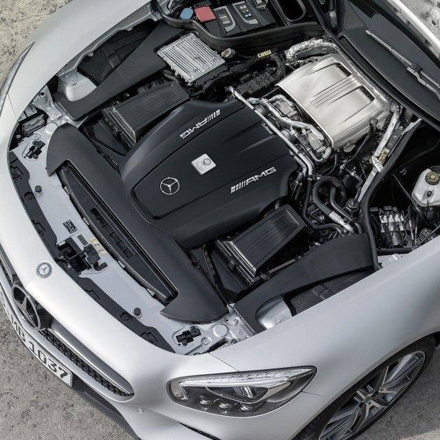 At The Heart Of The Mercedes Amg Gt S Is A 4 0 Liter Biturbo V 8 Engine That Produces 503 Horsepower Sta New Mercedes Amg Mercedes Benz Amg Mercedes Benz Cars