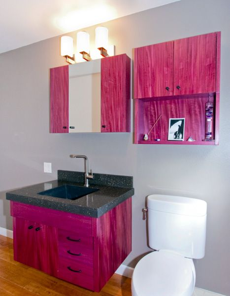 Purple Heart Kitchen Cabinets Quicua From Purple Kitchen Cabinet