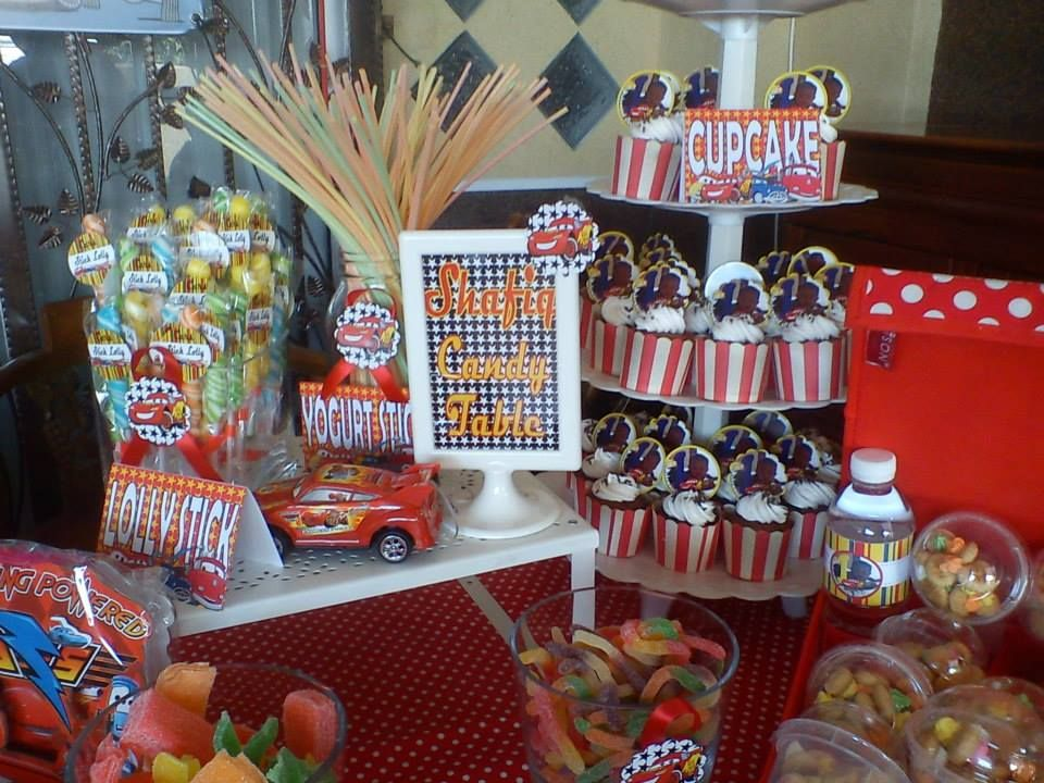 cars theme candy buffet cars bday party candy buffet buffet rh pinterest com ideas for candy buffet at wedding ideas for diy candy buffet