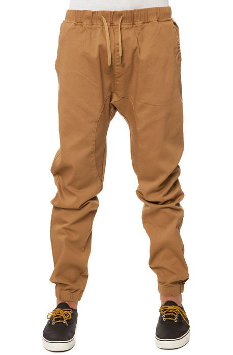 4ae59645002 Scout Pants Twill Cuff Jogger Khaki Beige - Karmaloop.com | Fashion ...