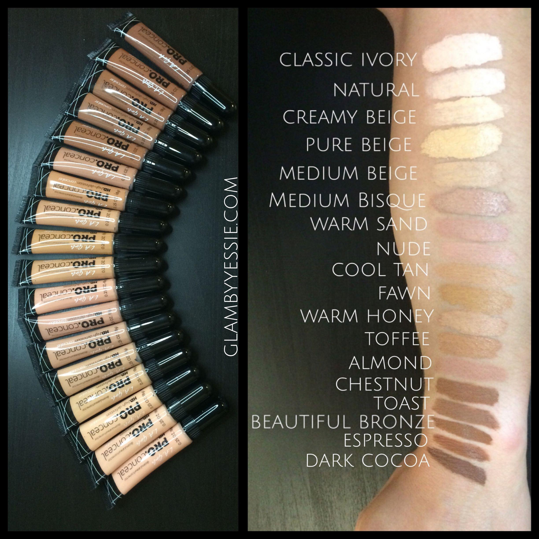 glambyyessie   La girl pro concealer, Makeup obsession, Makeup ...