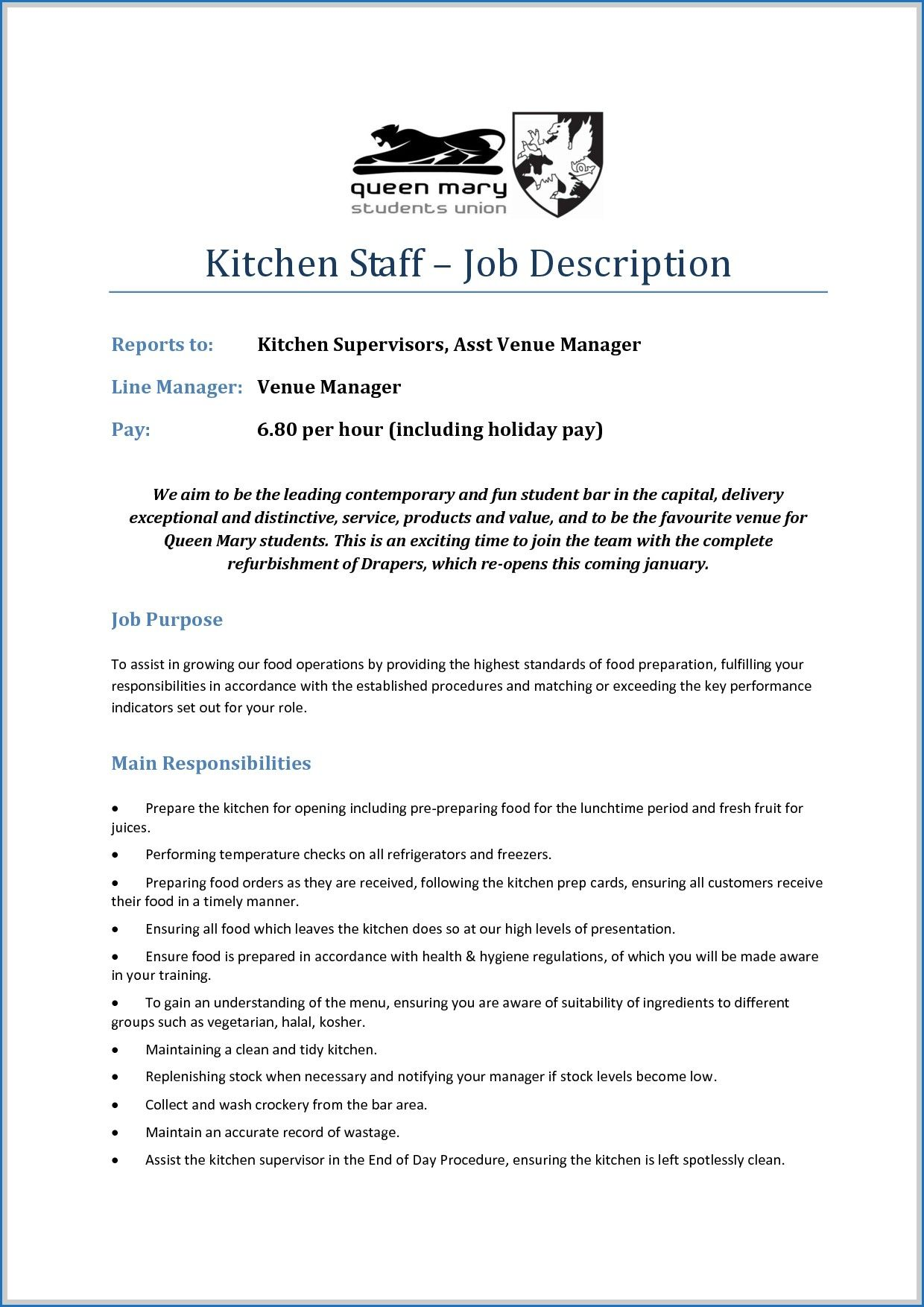 8 Sample Resume for Venue Manager Check more at https