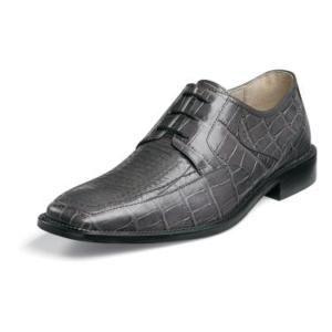 Image detail for -Stacy Adams Barnett Mens Gray Leather Dress Shoe 24568   eBay