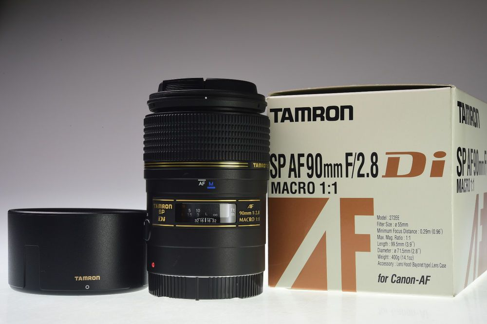 Tamron Sp Af 90mm F 2 8 Di Macro 272e For Canon Excellent Tamron Tamron Canon Lens Macro