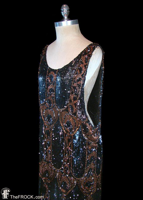 72cd40d2b3 Authentic 1920s flapper dress