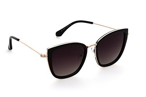 6a415fe4275a Despada Made In ITALY Cat Eye Polarized Lens Metal Frame Ladies Sun glasses  DS1550
