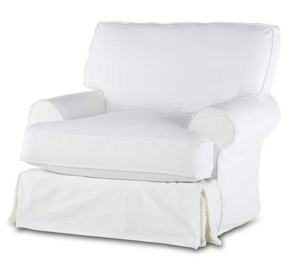 Best The Comfy Slip Covered Swivel Chair Sw 7030 C From The 400 x 300