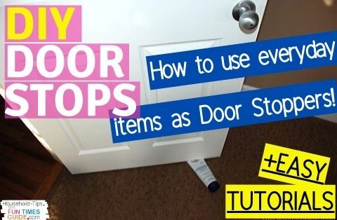 Simple DIY Door Stops You Can Make Yourself + Other Super Cool And Unique Doorstops