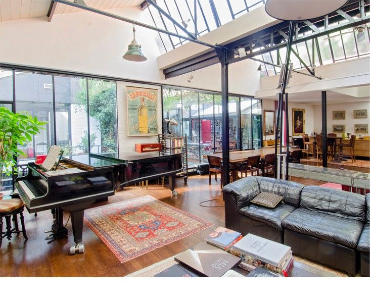 Loft exceptionnel à Mouffetard | Le magazine Ateliers Lofts ...