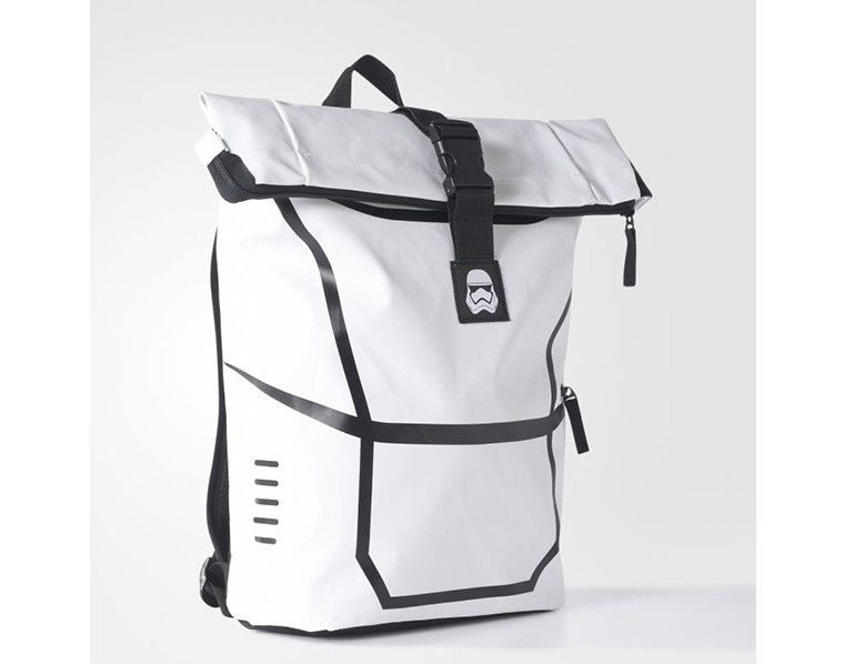 87658d0ba00 adidas Star Wars Lucas Backpack White School Bag Sports Casual Limited  BP7829  adidas  Backpack