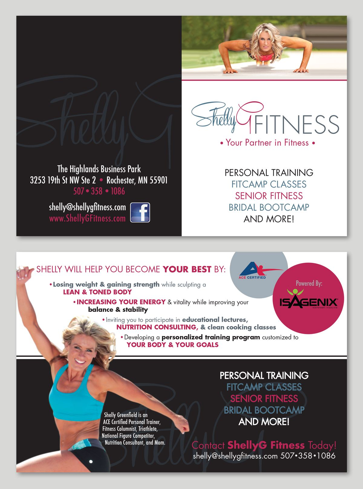 Shellyg fitness logo line card copyright tulip tree studios explore fitness logo tulip and more 1betcityfo Image collections