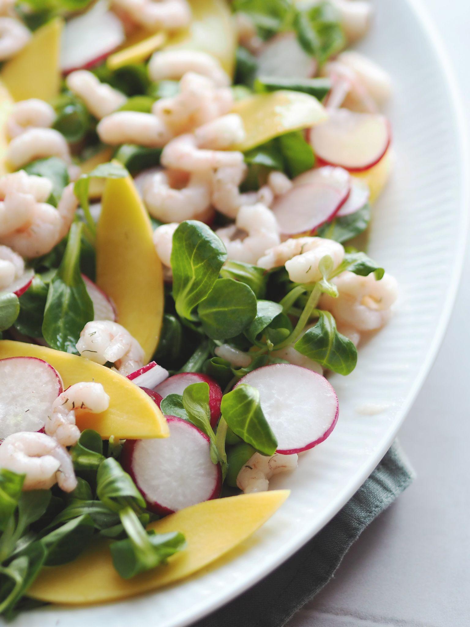 Salat Med Rejer Og Mango Opskrift My Recipes Ethnic Recipes