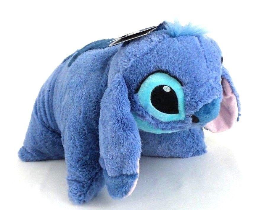"""Authentic Disney Parks Stitch 20"""" Pillow Pal Plush Pet"""
