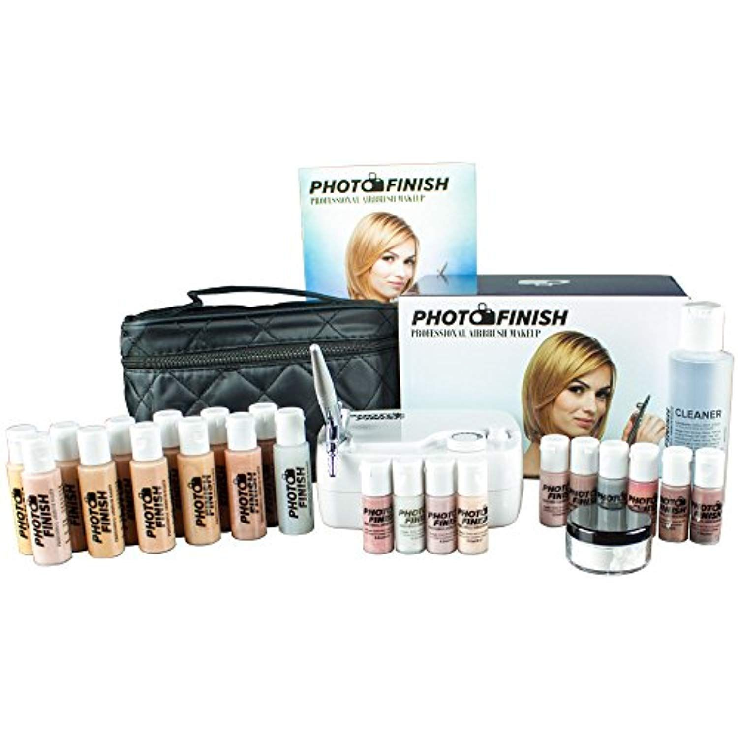 Photo Finish Professional Airbrush Cosmetic Makeup Deluxe