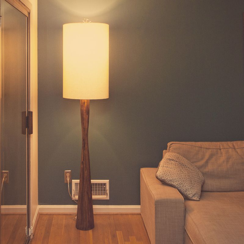 Diy Midcentury Modern Inspired Floor Lamp Made From