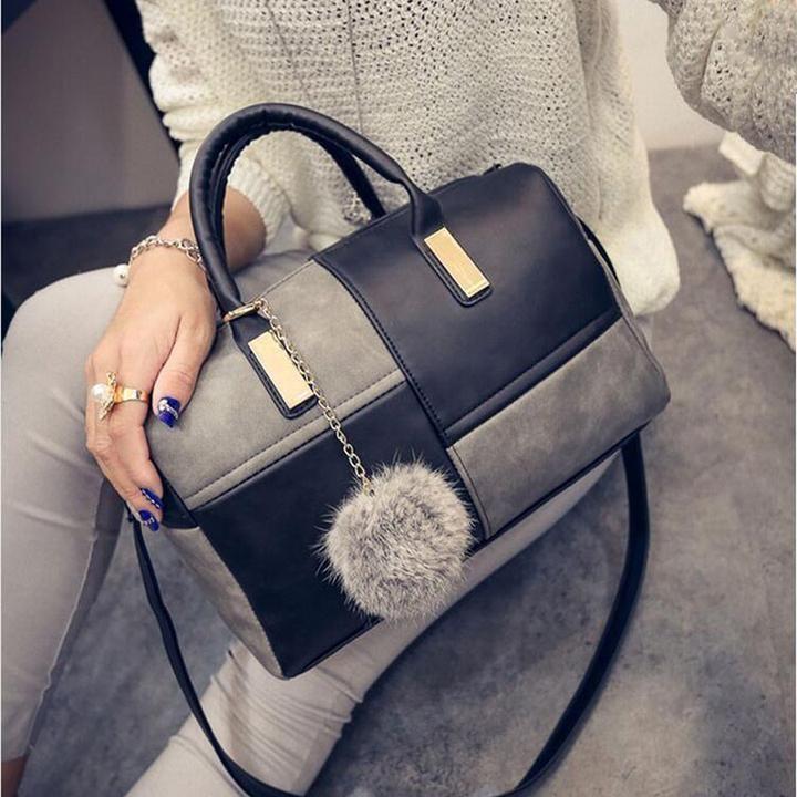 Leather Patchwork Hand Bag by Shunvbasha - unusual handbags, small ...