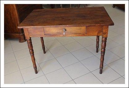 Tavolino scrittoio rustico toscano restaurato fine 800 in massello ...