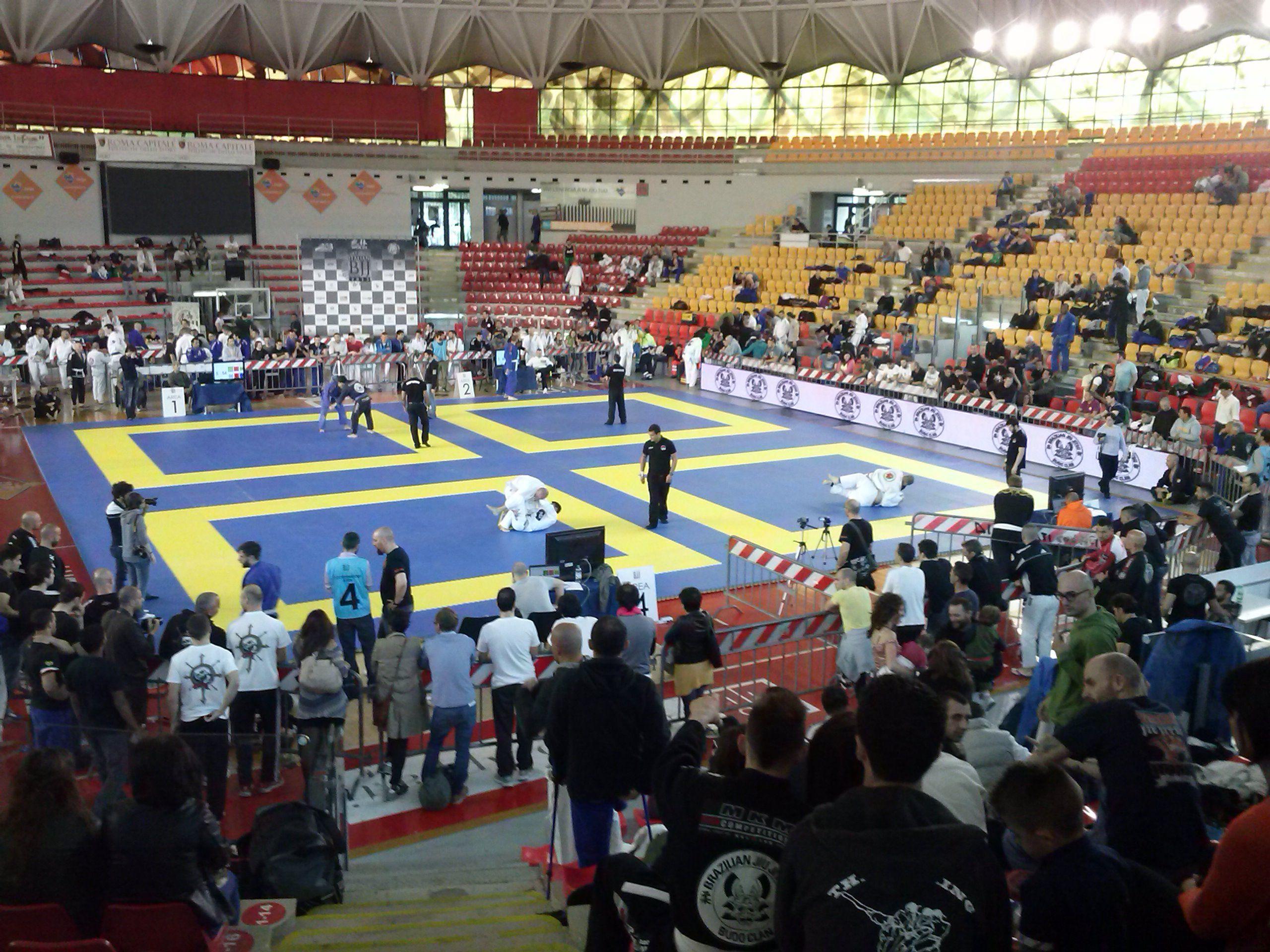 Dai-ki Dojo at Italian bjjopen 2013 Roma. Brazilian jiu jitsu