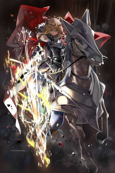 Shino Eefy Mangaka Fate Grand Order Game Lancer Artoria Pendragon Character Saber Fate Stay Night Character View Full Size Fate Stay Night Anime Fate Artoria pendragon lancer fgo wallpaper
