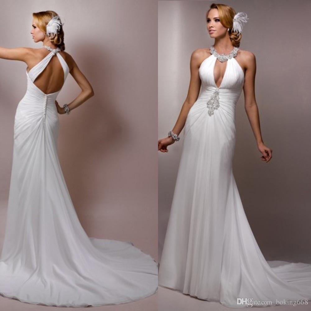 100+ Free Flowing Wedding Dresses - Best Wedding Dress for Pear ...