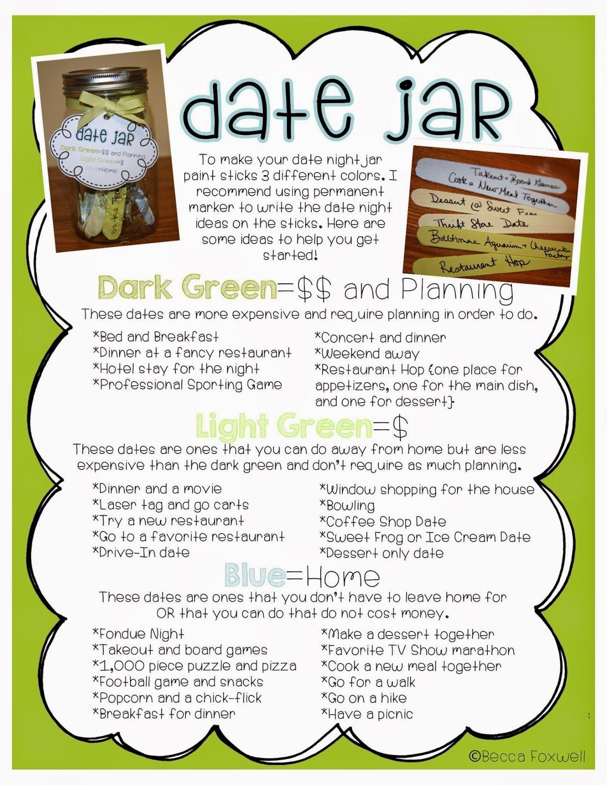 Date Jar Ideas! | Boyfriend! | Pinterest | Jar, Relationships and Gift