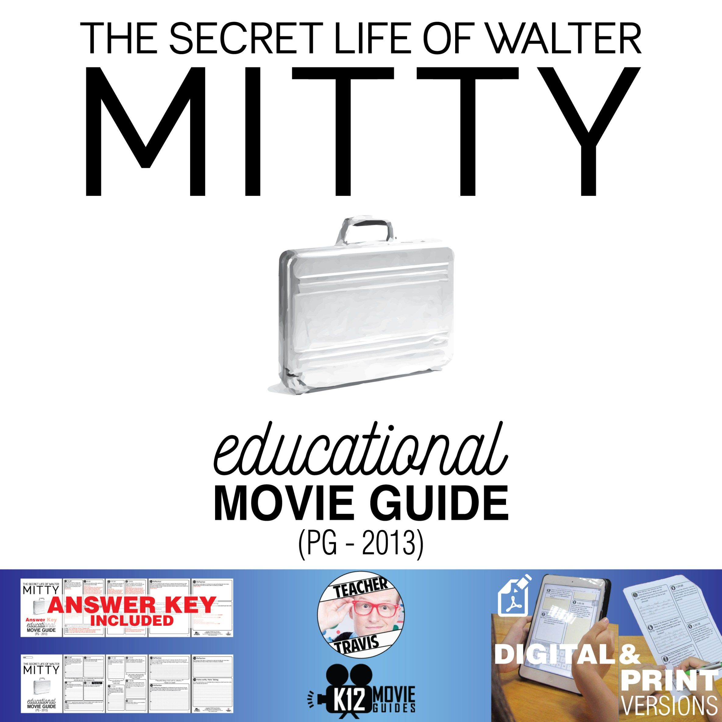 The Secret Life Of Walter Mitty Movie Guide