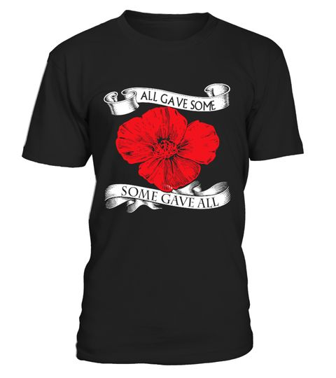 REMEMBRANCE DAY. POPPY WE WILL REMEMBER THEM UNISEX MENS WOMEN/'S KIDS T-SHIRT