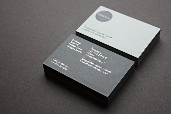 Cool business cards effektive design type pinterest business cool business cards effektive design colourmoves Choice Image