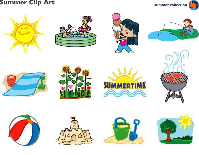Summer Clip Art At Lakeshore Learning Clip Art Summer Clipart Clip Art Library